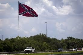 Image Of Confederate Flag Tampa U0027s I 75 Confederate Flag Is One Man U0027s Mission Saintpetersblog