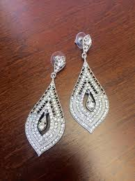 rhinestone earrings wind drop rhinestone earrings inc