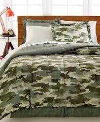 Camo Duvet Covers Closeout Camo 8 Pc Bedding Ensemble Bed In A Bag Bed U0026 Bath
