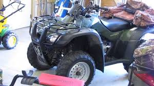 honda rancher trx 350 fm and trx 350 te how they work youtube