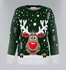 rudolph sweater rudolph reindeer sweater green sweaters