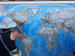 Pin World Map by Pins On Map Show Extent Of World Eclipse Tourism In Casper Oil