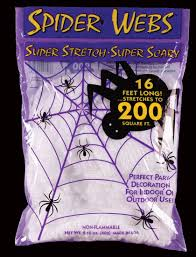 spiderweb decor halloween