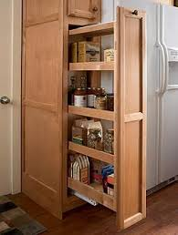 Kitchen Pantry Cabinets Fascinating Wood Pull Out Kitchen Pantry Cabinets Home Design