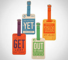 flight001 luggage tags cool material