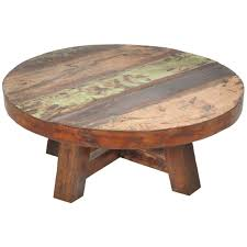 Oak Wood Furniture Fascinating Round Wood Coffee Table For Home Coffee Bar Midcityeast