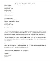 informal resignation letter 7 sample resign letters lpn resume