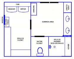 Master Bedroom Walk In Closet Design Layout Bathroom Floor Plans With Walk In Closets Home Decorating