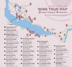 Wenatchee Washington Map by Chelan Wineries And Tasting Rooms Washington State Tours