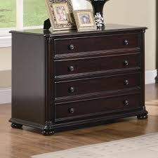 Steel Lateral File Cabinet by Bush Fairview 2 Drawer Lateral File Cabinet Antique Black And