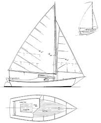 meadow bird daysailer camp cruiser boat plans boat designs