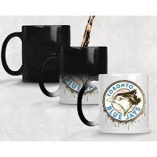 fade to gold toronto blue jays logo color changing mug u2013 otkworld