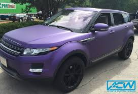 land rover matte 2013 range rover evoque atlanta custom wraps