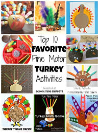 top 10 favorite motor turkey activities school time snippets