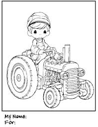 tractor coloring pages kids tractor coloring pages