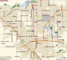 map of fresno fresno city map my