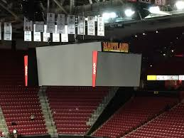 united center floor plan xfinity center college park maryland wikipedia