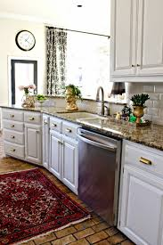 Refresh Kitchen Cabinets Dimples And Tangles Kitchen Refresh Makeover Reveal