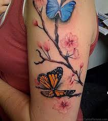 60 magnificent cherry blossom tattoos on shoulder