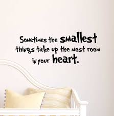 Dr Seuss Nursery Wall Decals by Amazon Com 2 Sometimes The Smallest Things Take Up The Most