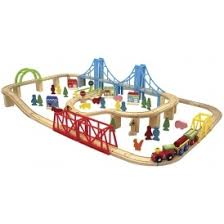 carousel train table set carousel super train and city 100 piece set 11 98 was 29 95