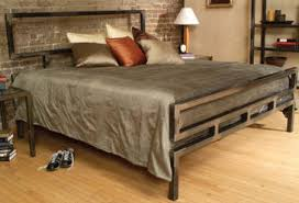 Metallic Bed Frame Metal Bed Frame From Boltz Bed Classics