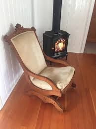 Leather Rocking Chairs For Nursery Furniture Upholstered Rocking Chair Stuffed Rocking Chair