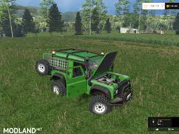 land rover mod land rover defender 90 ea v 1 0 mod for farming simulator 2015