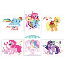 144 my little pony tattoo assortment tattoos from smilemakers