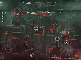 Destiny Maps Destiny 2 Region Chest Locations On Nessus
