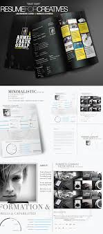 Graphic Design Resume Template 25 Creative Resume Templates To Land A In Style