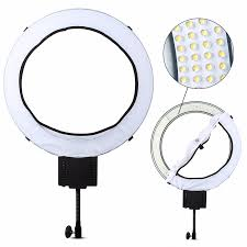 lighting for makeup artists nanguang cn r640 studio led ring light portable power