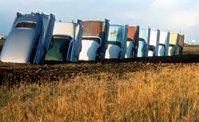 who sings cadillac ranch cadillac ranch amarillo blue oval trucks
