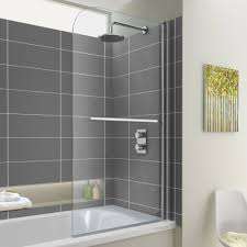 functional corner bath shower screen 578 new house decorating