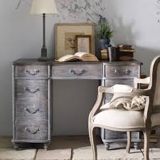 rosendal small pedestal desk grey oka furniture design