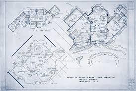 architectural blueprints of archetypal tv homes u2013 flavorwire