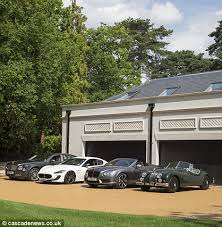 Large Garage Mansion With Cinema Pool And 1 700 Bottle Cellar On Sale For