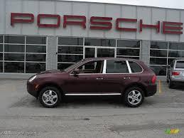 Porsche Cayenne Red Interior - 2004 carmona red metallic porsche cayenne s 11054 gtcarlot com