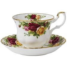 boxed roses royal albert country roses boxed cup and saucer