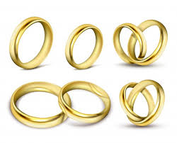 gold set for marriage ring vectors photos and psd files free