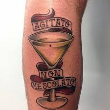 simple banner james bond tattoo golfian com