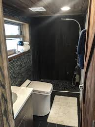 Tiny Home Bathroom by An Rv Tiny House In Cobleskill Ny Made By Lil Lodges Of Bear