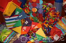 house party ideas our forever house rainbow birthday party sneak peek