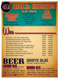 baby acapulco u0027s happy hour menu design austin tx gino verna u0027s blog
