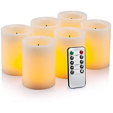 flameless candles flickering battery powered real