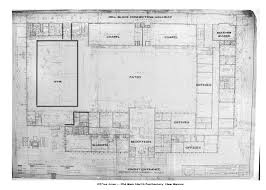 State Map Of New Mexico by New Mexico State Prison Old Main Blueprints