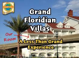 Grand Floridian 2 Bedroom Villa Floor Plan Grand Floridian Villas A Less Than Grand Experience Passporter