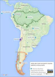 map of south america in best to visit south america responsible travel guide to when