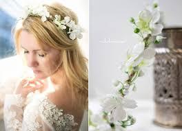 Hochsteckfrisurenen Hochzeit Mit Blumen by The 25 Best Haarschmuck Blumen Ideas On