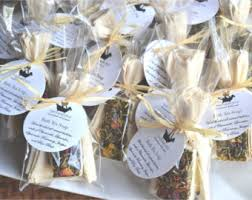 tea bag favors tea favors 24 bath tea soap favors bridal shower favors